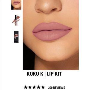 Kylie lip kit NIB in koko k